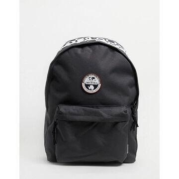 Napapijri Happy Daypack backpack in dark gray-Grey