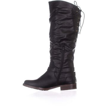Xoxo Womens Montclair Round Toe Knee High Fashion Boots