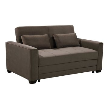 Serta Walnut Multifunctional Sofa