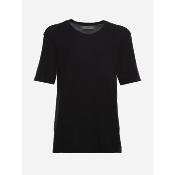 Laneus Cotton Jersey Crewneck T-shirt