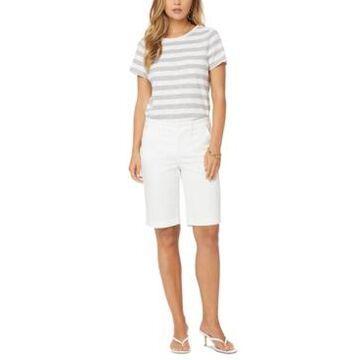 Nydj Solid Bermuda Shorts