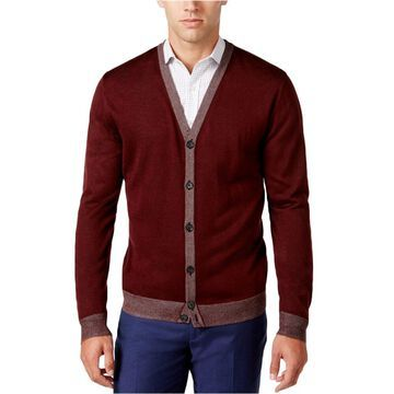 Ryan Seacrest Distinction Mens Knit Cardigan Sweater