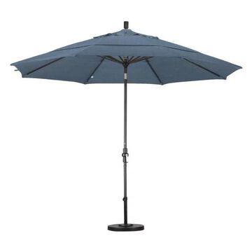 California Umbrella 11' Patio Umbrella in Air Blue