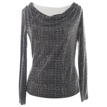 Max Mara Grey Wool Tops