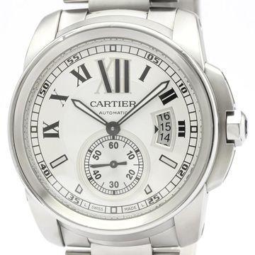 Cartier Calibre Silver Steel Watches