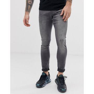 G-Star Revend skinny fit jeans in gray
