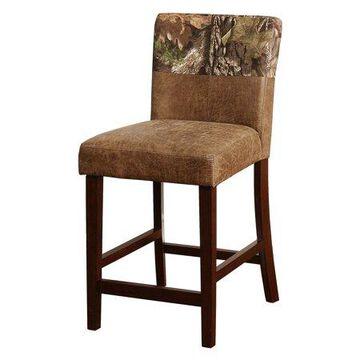 The Mossy Oak Nativ Living Counter Stool