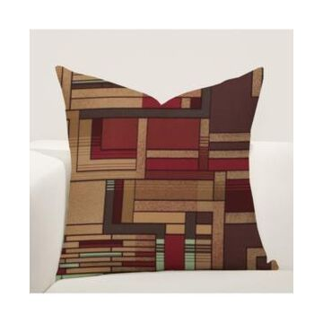 """Siscovers Mission Statement Decorative Pillow, 16"""" x 16"""""""