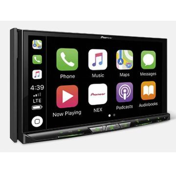 Pioneer In Dash Navigation AV Receiver with 7 inch WVGA Capacitive Touchscreen Display