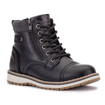 Xray Boys' Finley Ankle Boots, Boy's, Size: 3.5, Black