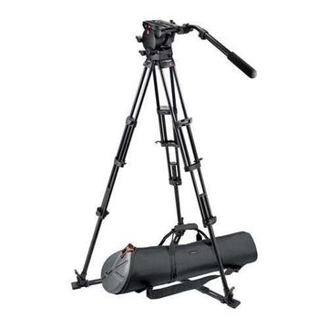 ''Manfrotto Video Kit with 526 Pro Fluid Video Head, 545GB Pro Video Tripod and MBAG100P Tripod Bag, M''