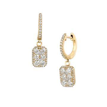 14k Honey Gold & Vanilla Diamonds Le Vian Earrings