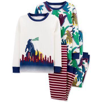 Carter's Toddler Boys Dinosaur Cotton Pajamas Set