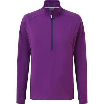 Rab Women's Flux Pull-On Top - XS - Blackcurrant