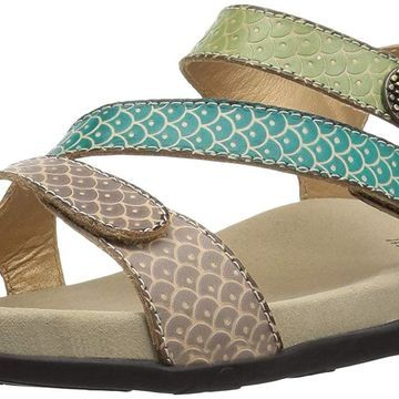 L'Artiste by Spring Step Womens Novato Leather Open Toe