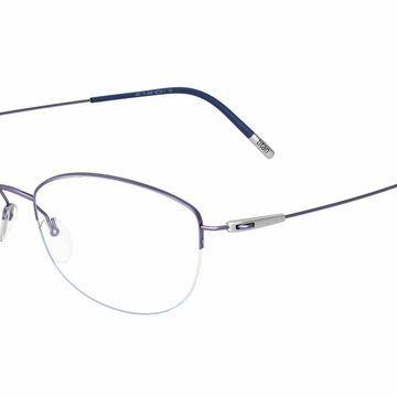 Silhouette 4552 Dynamics Colorwave Nylor Eyeglasses in Purple