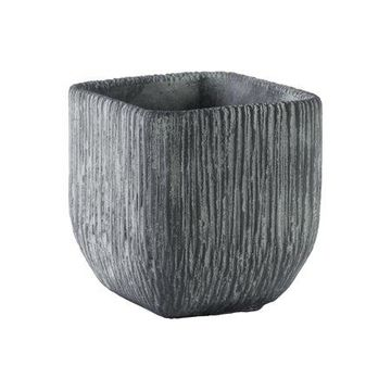Urban Trends Collection: Cement Pot Finish Gray