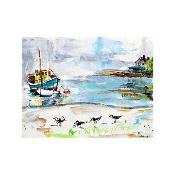 Betsy Drake Boats and Sandpipers 30