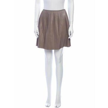 Msgm Pleated Accents Mini Skirt Msgm Pleated Accents Mini Skirt