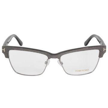 Tom Ford FT5364 20 Butterfly   Silver/Brown  Eyeglass Frames
