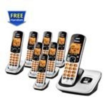 Uniden D1760-8 DECT 6.0 Cordless Phone w/ 7 Extra Handsets
