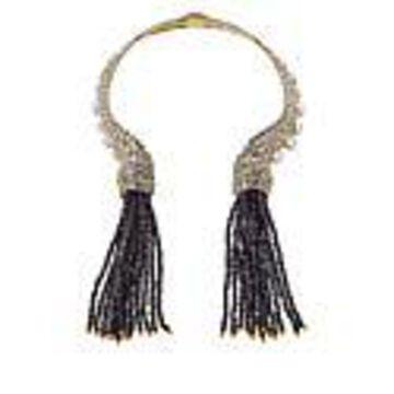 "Heidi Daus 15"" ""Classic Cascade"" Tassel Collar Necklace"