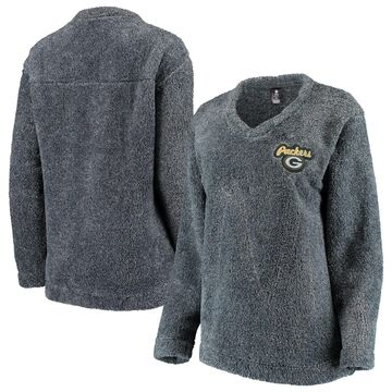 Green Bay Packers Concepts Sport Women's Trifecta Pullover Sweatshirt Charcoal
