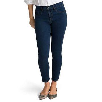 Spanx Slim-X Tencel Ankle Jeans, Midnight Rinse, 24