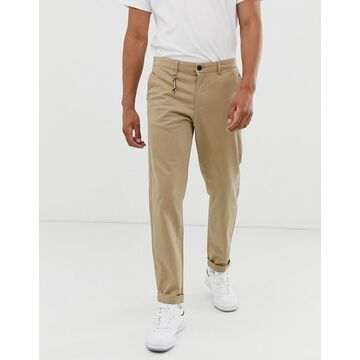Jack & Jones Intelligence skate fit chino in stone