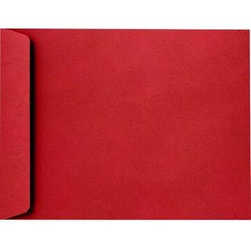 9 x 12 Open End Envelopes - Ruby Red (500 Qty.)