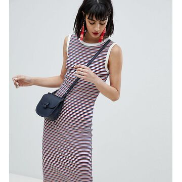 Esprit Stripe Sleeveless Jersey Dress