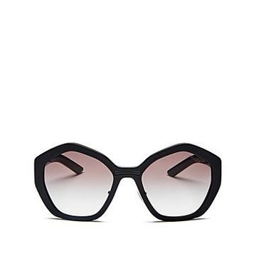 Prada Women's Octagonal Sunglasses, 55mm