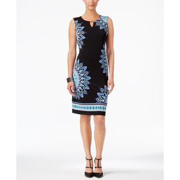 Zoey Printed Sheath Dress, Created for Macy's
