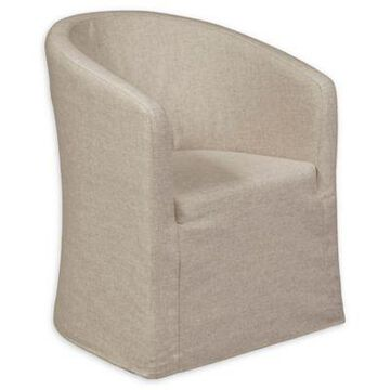 Pulaski Slipcover Accent Chair in Beige