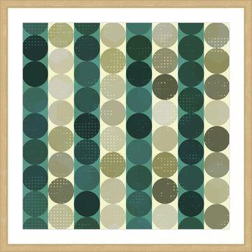 Marmont Hill - Handmade Alternating Rows Framed Print