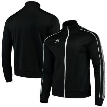 Men's Umbro Black/White Full-Zip Diamond Jacket