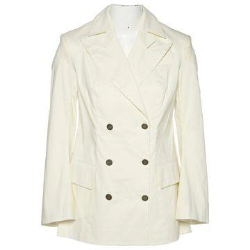 John Galliano Ecru Cotton Jackets