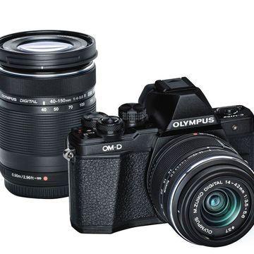 Olympus OM-D E-M10 Mark II Mirrorless Camera with Extra Lens