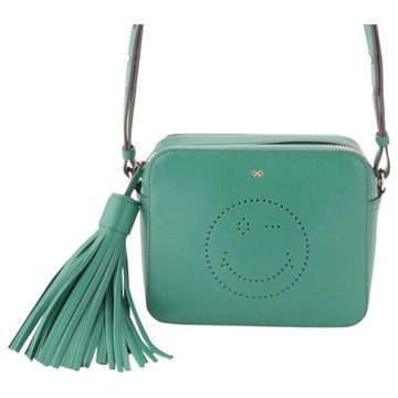 Anya Hindmarch Green Leather Handbags