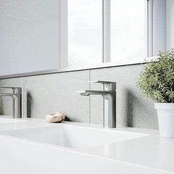 VIGO Davidson Single Hole Bathroom Faucet