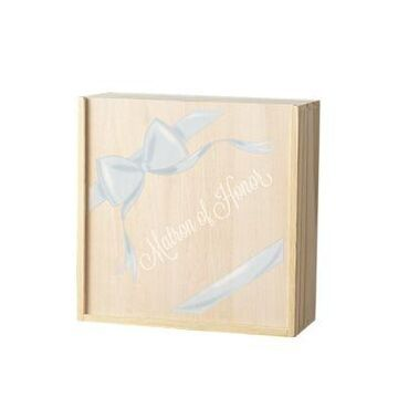 Cathy's Concepts Women Ribbon Matron Of Honor Gift Box Set - -