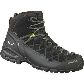 Salewa Men's Alp Trainer Mid GTX Boot - 7.5 - Black/Black
