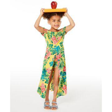 Toddler Girls Floral-Print Walkthrough Romper Dress, Created for Macy's