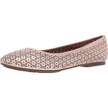 Gentle Souls by Kenneth Cole Womens Eugene 3 Ballet Flats Leather Slip On
