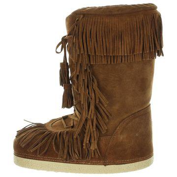 Aquazzura Brown Suede Boots