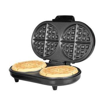 Kalorik Black and Stainless Steel Double Belgian Waffle Maker
