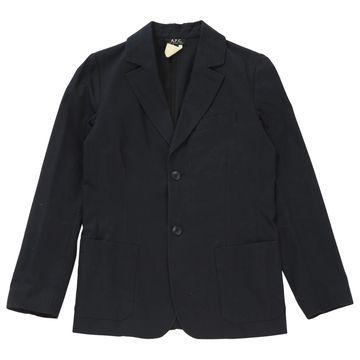 Apc \N Navy Cotton Jackets