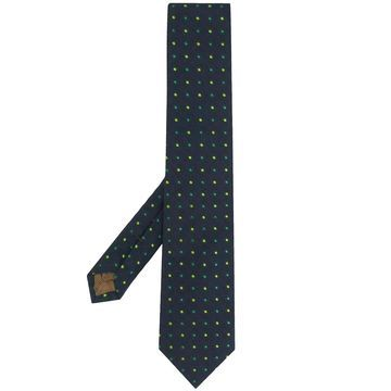 spotted pattern tie