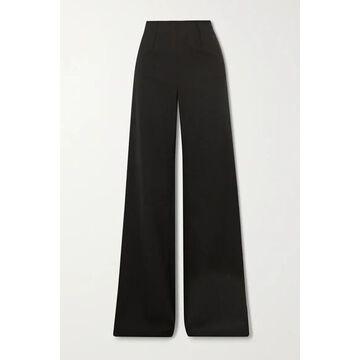 Altuzarra - Luther Wool-blend Wide-leg Pants - Black