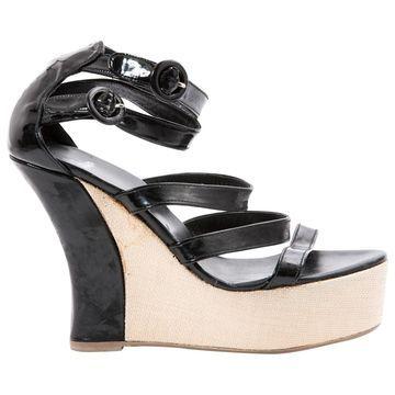 Castaner Black Patent leather Sandals